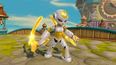 Skylander Trap Team Character Gearshift