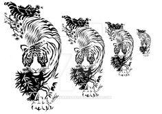 Tribal Tiger Tattoo by LuisaRosati on DeviantArt