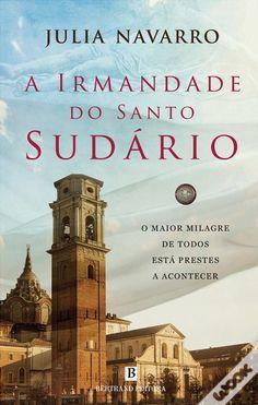 A Irmandade do Santo Sudário, Julia Navarro - WOOK (The Brotherhood of the Holy Shroud) - portuguese edition