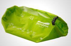 COCOONテリータオルとスクラバで、超コンパクトな洗濯脱水システムを作る