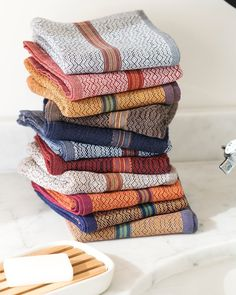Boma Stacks still on special 10 soft reusable pure cotton hand towels perfect for your guest loo work space shared basins and the kitchen sink. Basins, Kitchen Sink, Hand Towels, Blanket, Space, Bathroom, Crochet, Instagram Posts, Cotton