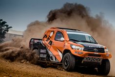 Toyota Hilux in Rally Marocco 2016 #evocorse #dakarcorse #overdrive #offroad