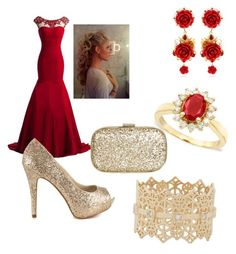 """""""Red dress"""" by devorah-sandler ❤ liked on Polyvore featuring Effy Jewelry, Dolce&Gabbana, ALDO, Anya Hindmarch and Grace Lee Designs"""
