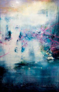 "Saatchi Art Artist Chris Veeneman; Painting, ""Bleu"" #art"