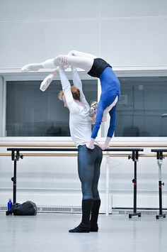 Sarah Lamb and Steven McRae in rehearsals for Metamorphosis: Titian 2012. © ROH/The Ballet Bag | Flickr - Photo Sharing!