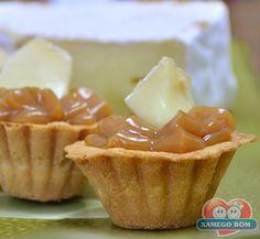 Receitas - Mini Tortinha de Doce de Leite | Xamego Bom