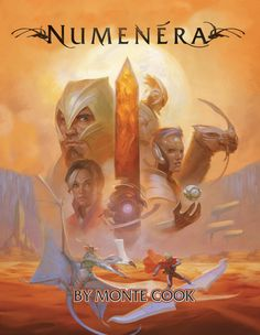 Numenera - I owe this one to an awesome Canadian gamer: Brad Murray