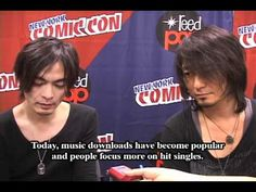 Boom Boom Satellites Interview from New York Anime Festival 2010 - YouTube