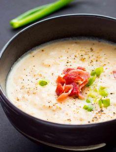 Clam Chowder Recipes, Soup Recipes, Crab Chowder, Family Recipes, Thick New England Clam Chowder Recipe, Cauliflower Bacon Soup, Italian Tomato Sauce, Pork Stew, Homemade Soup