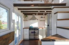 Tiny Living Ltd. delivers a gorgeous tiny house on wheels with the dreamiest interior.  This is amazing!