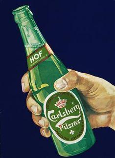 Lauritz.com - Grafik - Plakat, 'Carlsberg Hof', offset, ca. 1950/60'erne - DK, Vejle, Dandyvej