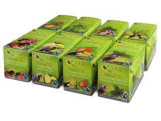 PURO Teabox Assorted 5 x 8 x 25 envelope (box 8 x 25 pieces) = 1000 e (331 392) #Puro