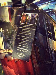 Create e realizzate da artigiani veneti! #limited #edition #pvc #bg Stampata con inchiostri ecologici di qualità by Gruppo Antagora www.gruppoantagora.it Photo by Matteo Munarin