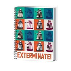 Doctor Who A4 Exterminate Notebook SR71669 5050293974774