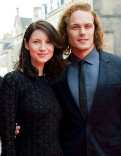 Outlander: Caitriona Balfe and Sam Heughan