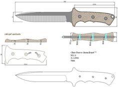 Чертежи ножей 10 вариантов (ст.23)