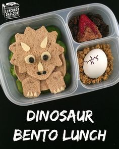 Dinosaur Triceratops Lunch for your kids. See the recipe on my blog! Great if you are looking forward to the new Jurassic Park Jurassic World movie!