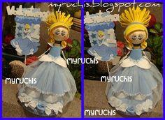fiesta princesas, Fiesta Cenicienta, centros de mesa Infantiles, centros de mesa princesas, decoración fiestas, decoración fiesta princesas, ideas fiesta, ideas fiesta princesas myruchis.blogspot.com