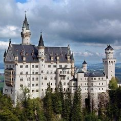 Neuschwanstein Castle: Germany. Neuschwanstein is known all over the world as a symbol of idealized romantic architecture and for the tragic story of its owner. After losing sovereignty in his own kingdom, Ludwig II withdrew into his own world of myths, legend and fairytales.