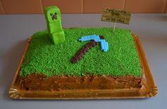 a minecraft cake
