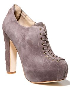 Why do I have to be so clumsy? I love these, but know I couldn't walk in them. If you think you can, check out rue la la today.