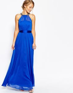 Coast Fernanda Crinkle Maxi Dress