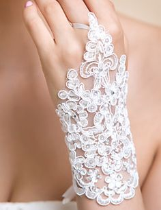 Lace Wrist Length Wedding/Party Glove. Get awesome discounts up to 70% Off at Light in the Box using Coupons.