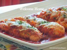 Welcome Home: Chicken Tender Parmigiana