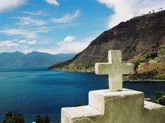 overlooking Lake Atitlan, Guatemala C The Places Youll Go, Great Places, Places To See, Beautiful Places, Tikal, Travel Around The World, Around The Worlds, Atitlan Guatemala, Countries In Central America