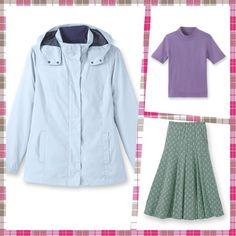 NEW Outfit Parka + Jumper + Skirt UK 22/24 EU 50/52