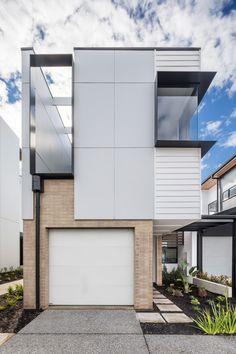 West | Flagship Terrace Homes | Studio Nine Architects West Home, Home Studio, Architects, Terrace, Garage Doors, Homes, Outdoor Decor, Projects, Home Decor