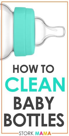 How to Clean Baby Bottles The 5 Essential Steps How to Clean Baby BottlesWant to learn how to wash baby bottles Check out my 5 step guide to washing and sterilising your babies bottles Stork Mama Washing Baby Bottles, Cleaning Bottles Baby, Baby Bottle Organization, Dr Brown Bottles, Baby Care Tips, Baby Tips, Baby Ideas, Bottle Cleaner, Cleanser