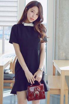 Honey Blouse Dress   Korean Fashion