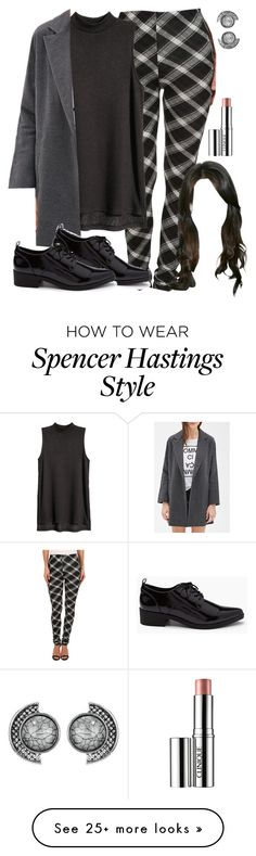 """""""Spencer Hastings soft grunge inspired outfit"""" by liarsstyle on Polyvore featuring Plush, Forever 21, Clinique, women's clothing, women, female, woman, misses, juniors and Work"""