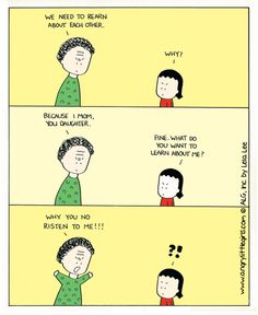 Angry Little Girls. Angry Little Girls, Korean American, I Hate People, E Cards, A Comics, Comic Strips, Haha, Childhood, Humor