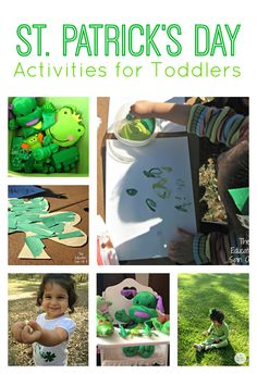 St. Patrick's Day Activities for Toddlers and Preschoolers.