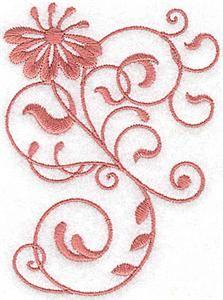 Swirls Machine Embroidery Designs