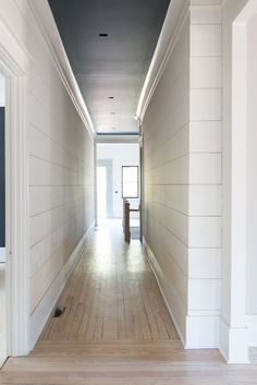 An update on our 1905 craftsman home restoration! Details on all of our trim, moldings, ceilings and shiplap! Home Renovation, Home Remodeling, Farmhouse Trim, Farmhouse Ideas, Shiplap Ceiling, Beadboard Ceiling Panels, Hallway Ceiling, Ceiling Trim, Wall Trim