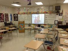 My high school classroom