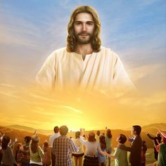 The author, after attending a Bible study meeting, has known the mysteries of the second coming of Jesus Christ. It turns out that there is the other way in which the Lord Jesus returns. Images Du Christ, Pictures Of Jesus Christ, Jesus Art, God Jesus, Image Jesus, Jesus Drawings, Jesus Photo, Jesus Second Coming, Jesus Christus