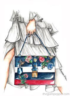 Tendenze moda primavera-estate 2016 | Borsette di stagione | Giovanna Sitran, The Glam Pepper
