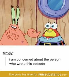 Wtf spongebob