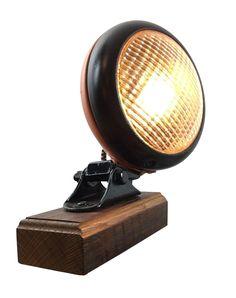 Salvaged Headlight Lamp on Chairish.com