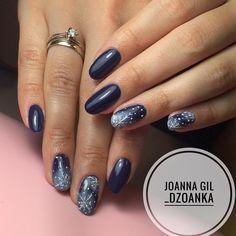 """Polubienia: 122, komentarze: 1 – Joanna Gil (@_dzoanka) na Instagramie: """"Midnight Ocean ❄️ @indigonails #indigo #indigolove #indigonails #indigolicious #nails #nailart…"""""""