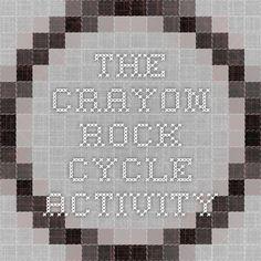 The Crayon Rock Cycle Activity