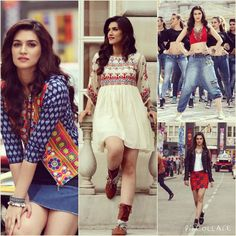 Kriti Sanon in Dilwale❤😍 Pakistani Dresses, Indian Dresses, Indian Outfits, Indian Designer Outfits, Designer Dresses, Pretty Dresses, Beautiful Dresses, White Embroidered Dress, Dress Clothes For Women