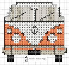 Groovy! This VW Van Cross Stitch Chart Invites You to Come Knockin'