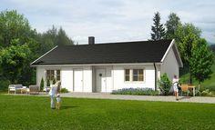 Heimen, et enkelt og lettstelt hus på ett plan | Norgeshus, vi bygger ferdighus, hytter og hus.