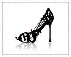typographic shoe illustration