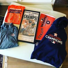 When you wait a lifetime for the first one. A very @astrosbaseball Christmas.   Hope the holiday season is as good to everyone as the 2017 MLB season was to the #Astros. Most grateful for family. #worldseries